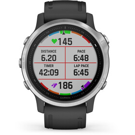Garmin Fenix 6S Reloj Inteligente, negro/Plateado